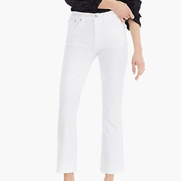 J. Crew Pants - J. Crew NWT Tall Billie Demi Boot Crop Jean White